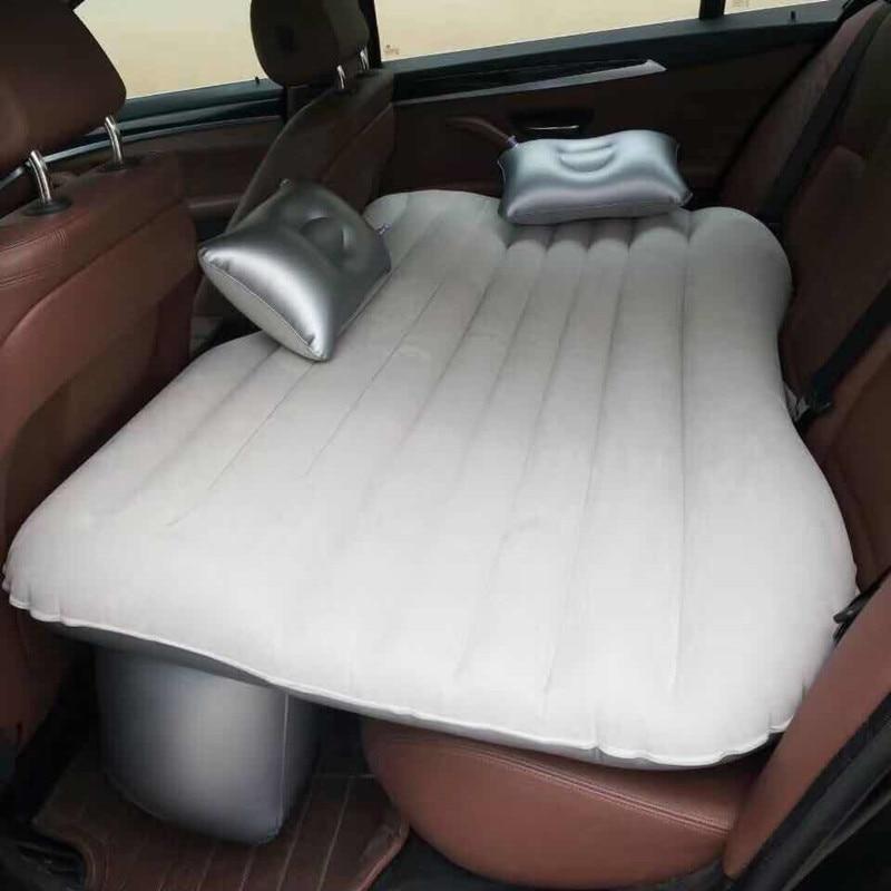 Автомобильная кровать для путешествий, надувной диван для кемпинга, автомобильный надувной матрас для заднего сиденья, подушка для отдыха, спальный коврик без аксессуаров для насоса