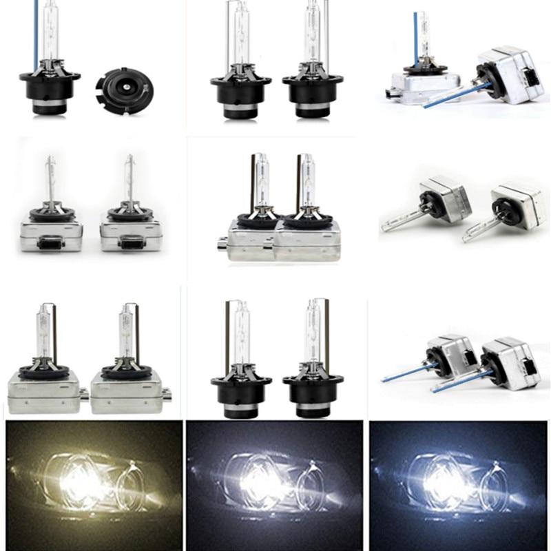 2x D4S D3S D2S D1S bombillas HID 35W 4300K 6000K 8000K D4S HID bombilla de faro delantero de coche D3S xenón faro delantero de coche D2S lámpara HID D1S
