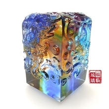 Bon cadeau daffaires en verre personnalisé   Cadeaux souvenirs caractéristiques chinoises réceptions de cadeaux, fournitures de bureau utilitaires