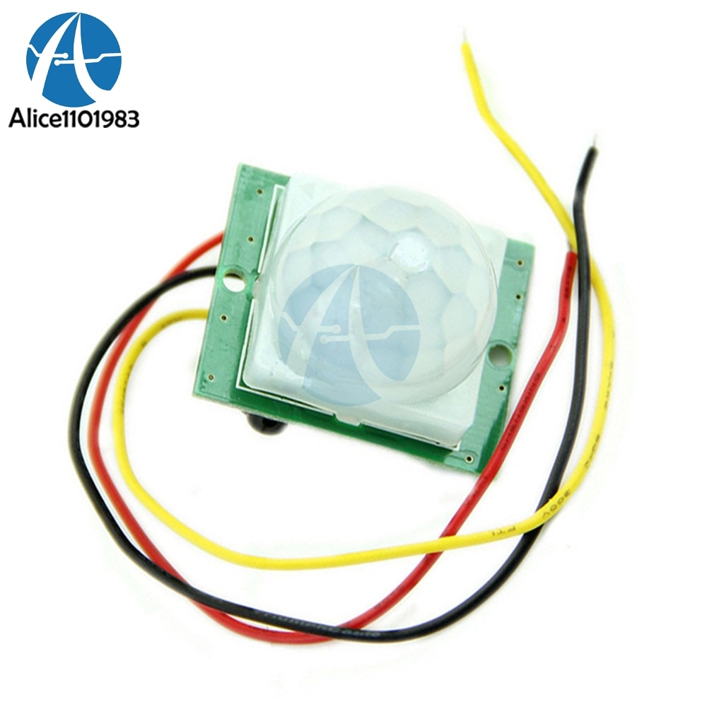 Módulo Detector infrarrojo IR de alta eficiencia DC 12V 5mA TDL-718A PIR IR PIR movimiento placa del Sensor