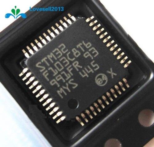 MCU ARM IC LQFP-48 STM32F103C8T6 STM32F103C8T6TR nuevo