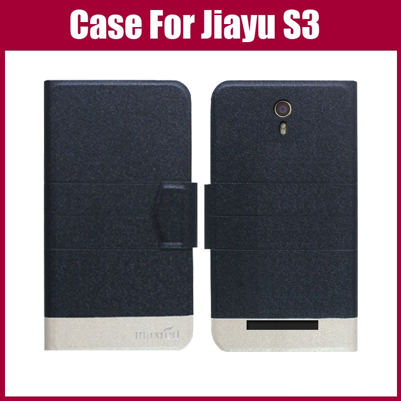 Gorąca wyprzedaż! Jiayu S3 Case New Arrival 5 kolorów moda klapki Ultra cienka skóra ochronna pokrywa dla Jiayu S3 przypadku