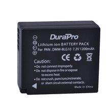 DuraPro 1 pc DMW-BLG10 DMW BLG10E BLG10 BLG10PP Batterie pour Appareil Photo Panasonic Lumix DMC GF6 GX7 GF3 GF5 GX7 LX100 Bateria