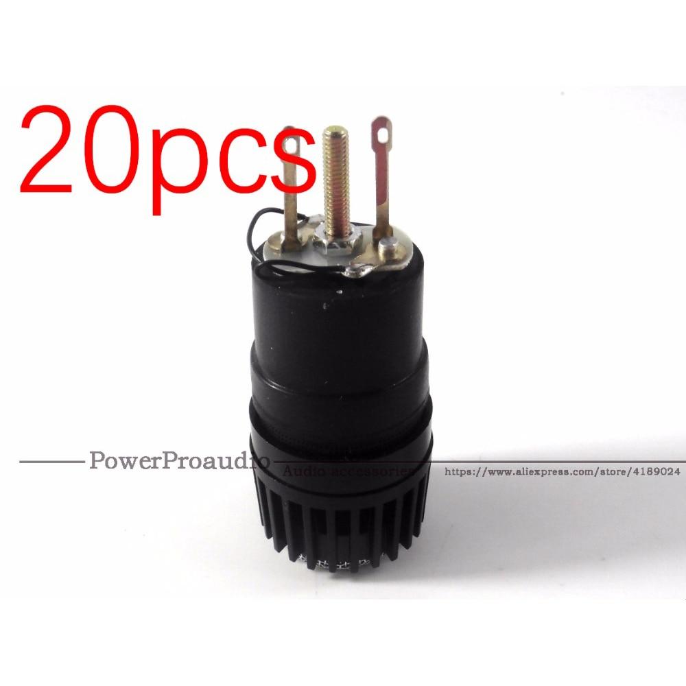 20 unids/lote micrófono Wireed cápsula N-157 Microfone se adapta a shure SM57 tipo mic reemplazar por el Roto
