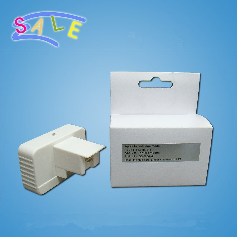 Reiniciador de Chip QE-6000 ecológica para impresora Epson GS6000
