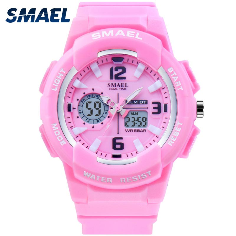 Фото - SMAEL Kids Digital Watches Boys Clock Men Sport Watch Waterproof Kids LED display relogio1643 Children Watches for girls Digital 2021 new sport travel lover watches carnival red digital clock gift for men waterproof electronics offers with free shipping