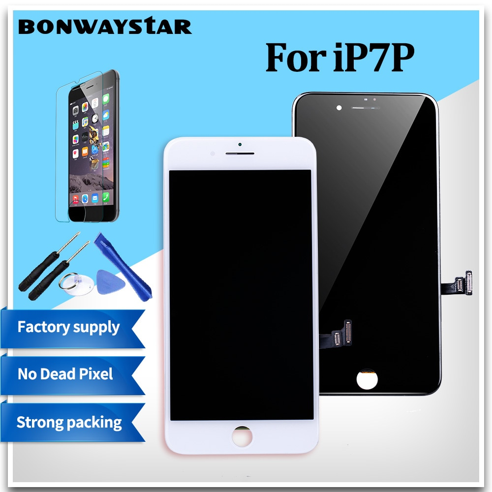 Pantalla AAA + + + para iPhone 7P LCD Touch digitalizador reemplazo de pantalla para iPhone 6 6s 7 7P con reemplazo de montaje + regalos