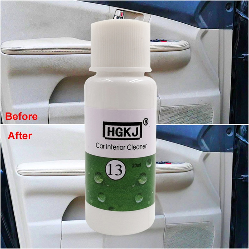 1:8 Dilute with water 1PCS HGKJ 20ML = 180ML Car Seat Interiors Cleaner Car Window Glass Cleaning Ca