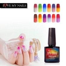 48 couleurs Arte Clavo choisir 1 pièce Gel ongles Art changement de couleur vernis à ongles en vrac laque UV changement de température Gel pour ongles