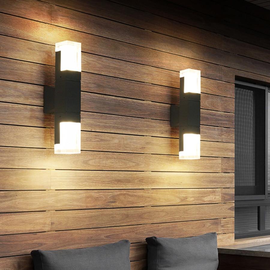 BEIAIDI-مصباح حائط LED مقاوم للماء مع مستشعر حركة ، إضاءة خارجية ، مثالي لفيلا ، فندق ، حديقة شتوية ، ممر ، فناء أو مدخل