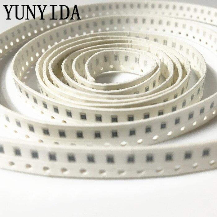 100 unids/lote resistencia SMD de tipo Chip 0805, 3,6 K 3,9 K 4,3 K 5,1 K 5,6 K ohm 5%