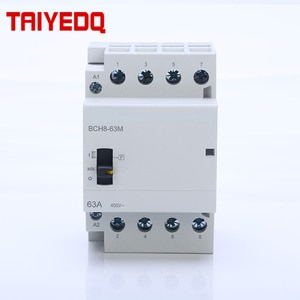 Household contactor 4P 63A  Household Manually Operated AUTO contactor AC400V 50/60HZ switch