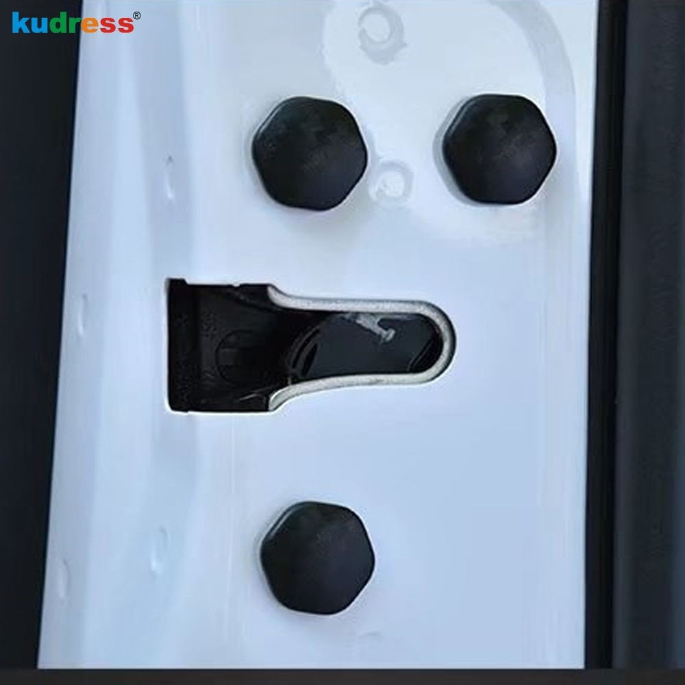 Para KIA K2 K3 K4 K5 Sorento Sportage Optima Rio Ceed Cerato Venga Soul universal Bloqueo de puerta de coche cubierta protectora de tornillo Accesorios