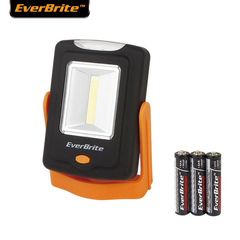 Everbrite 2 in 1 LED light Portable COB emergency light Under Cabinet Lights Multitool Work Light Camping Lamp