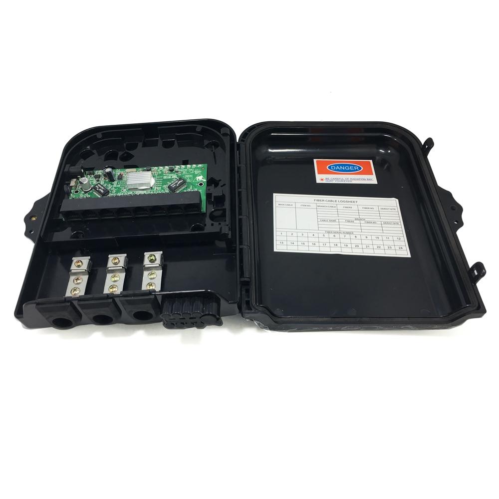 Conmutador poe reverso Ethernet de 8 puertos 10/100/1000M con VLAN
