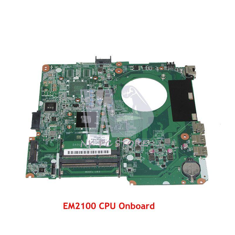 NOKOTION 785292-501 785292-001 لإتش بي جناح 14-W اللوحة المحمول DA0U93MB6D2 EM2100 CPU DDR3