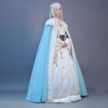 Fate Grand Order Princess Anastasia Cosplay Costume FGO Womens Outfits Gorgeous Dress Halloween Carnival Uniforms Custom Made