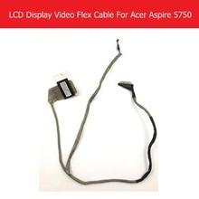 WEETEN véritable écran dordinateur portable vidéo câble flexible pour Acer Aspire 5750 5750G 5350 5755 Lvds LCD LED câble flexible P/N DC02001DB10 P5WS0