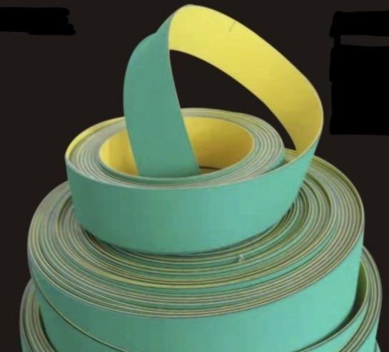 1200mm x 50mm x 4mm Nylon Chip Base banda textil cinta transportadora plana transmisión correa dentada