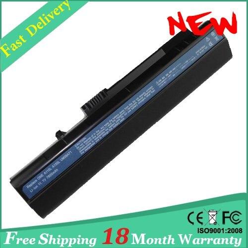 9 células 7800 mah bateria do portátil para acer aspire one zg5 um08a31 um08a51 um08a52 um08a71 um08b74 d150 d250