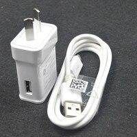 5V 2A micro USB дата синхронизировать мобильный телефон кабель + вилка Au настенное зарядное устройство для Samsung Galaxy S3 S4 NOTE 2 J2 J3 J5 J7 Бесплатная доста...