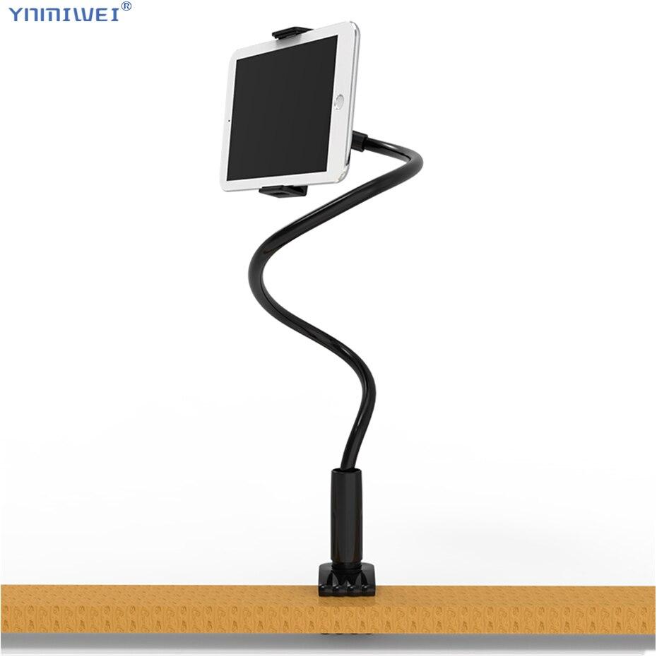Large Size Tablet Holder 75cm Long Arm Bed/Desktop For iPad Pro 11 Tablet Stands Support Clip Bracket 4.7 To 12.6 inch Tablet