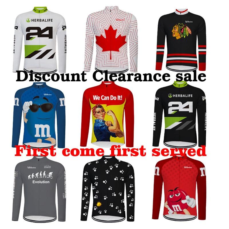 Nuevo Ciclismo Pro equipo vestir Maillot Ciclismo Jersey manga larga Camiseta para...