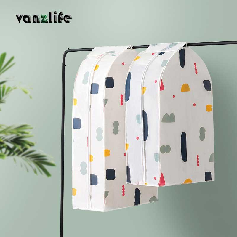 Прозрачный чехол для одежды для защиты от пыли vanzlife, чехол для защиты от пыли