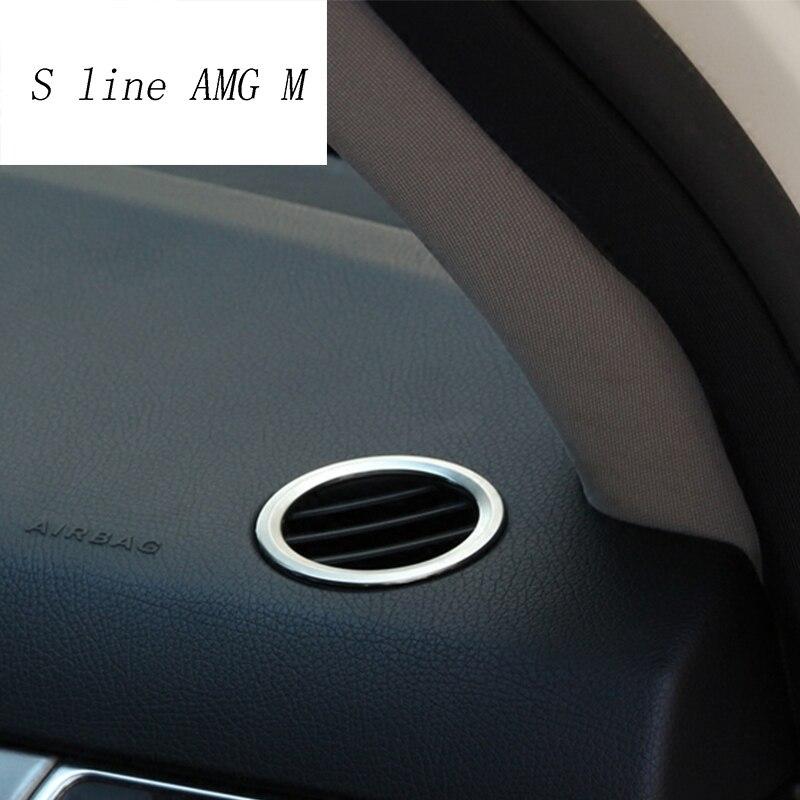 Автомобильный Стайлинг для Mercedes benz ML GLE W166 coupe C292 GLS приборная панель Крышка вентиляционного отверстия кондиционера отделка интерьера авто аксессуары