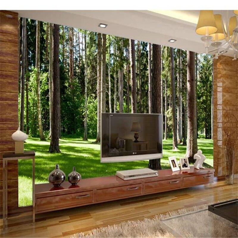 Обои для стен 3d beijingqiang big tree tv, обои гостиной, стеновые панели