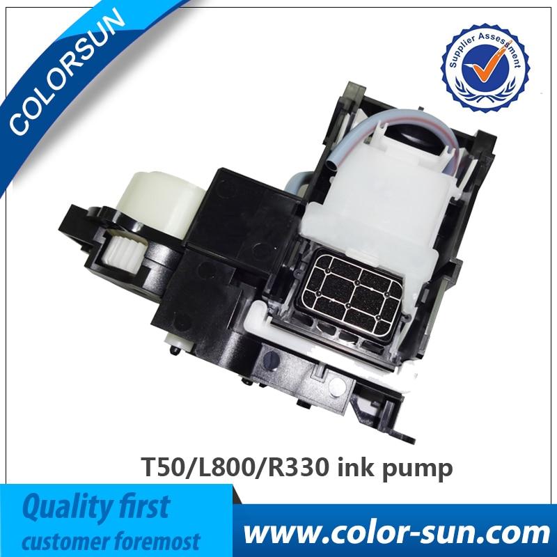 مضخة حبر مقاومة للتآكل لإبسون T50 R330 L800 L801 على مضخة تجميع نظام الحبر Assy