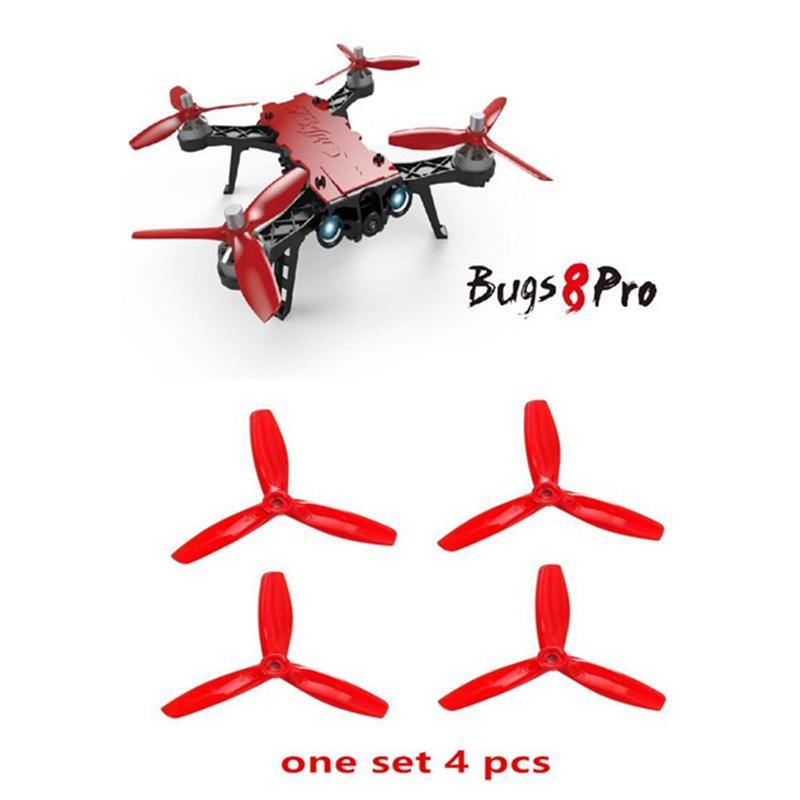 RCtown R/C/técnica 4 unids/set palas de hélice hélices para None bichos 8 Pro B8 B8PRO Quadcopter Drone D15