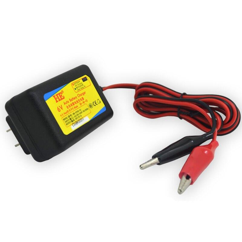 Универсальное умное зарядное устройство US/EU DC7.2V 1A, адаптер питания для дома, свинцово-Кислотное автомобильное зарядное устройство 6 в 1 а для...