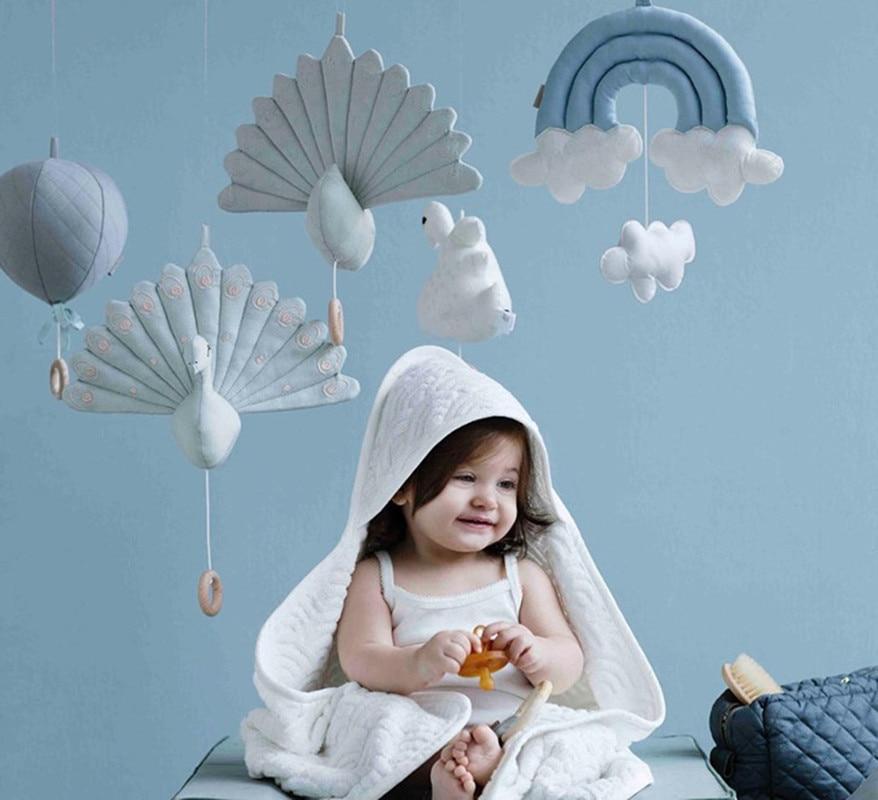 Tienda de juegos para niños, accesorios para tienda, nubes arcoíris, decoración para dormitorio de bebé recién nacido, juguetes colgantes, decoración colgante para cuna de niños