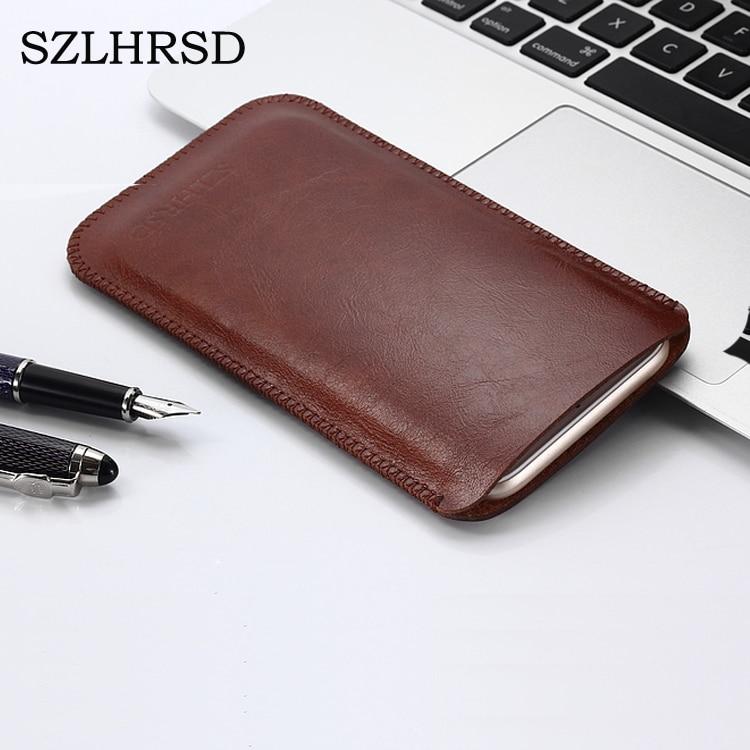 Чехол SZLHRSD для BlackBerry KEY2, винтажный кожаный чехол из микрофибры для Blackview BV5800 Pro, сумка для телефона