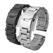 22mm 24mm 26mm Massivem edelstahl armband edelstahl armband uhren Strap Zubehör Für PAM + Werkzeug