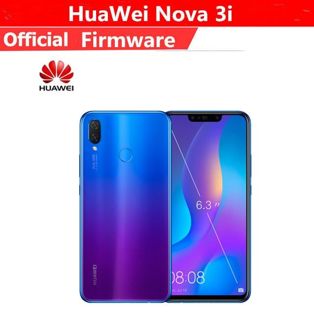 "Dhl Snelle Levering Huawei Nova 3i 4G Lte Mobiele Telefoon Kirin 710 Android 8.1 6.3 ""2340X1080 6Gb ram 128Gb Rom Vingerafdruk 24.0MP"
