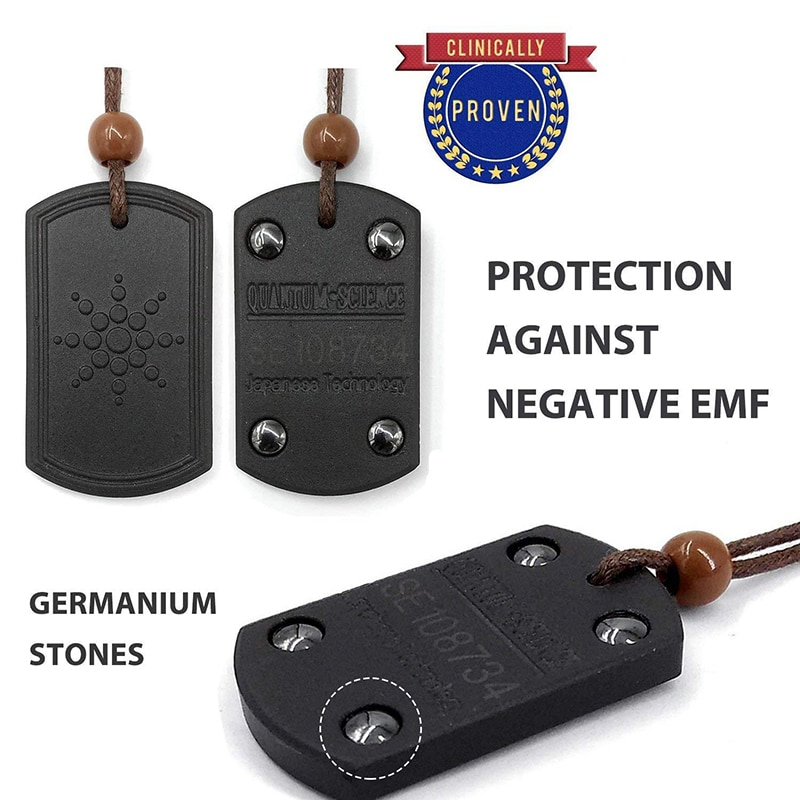 Подвеска с защитой от излучения EMF, скалярное ожерелье с негативными ионами для мужчин и женщин, ретро колье с подвеской, для здоровья на лето 2019