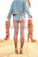 Plus Größe Sexy Jeans Shorts Low Waist Hot Shorts Low Rise Taille Erotische Disco Dance Dünne Micro Kurze Club Tragen FX34-39
