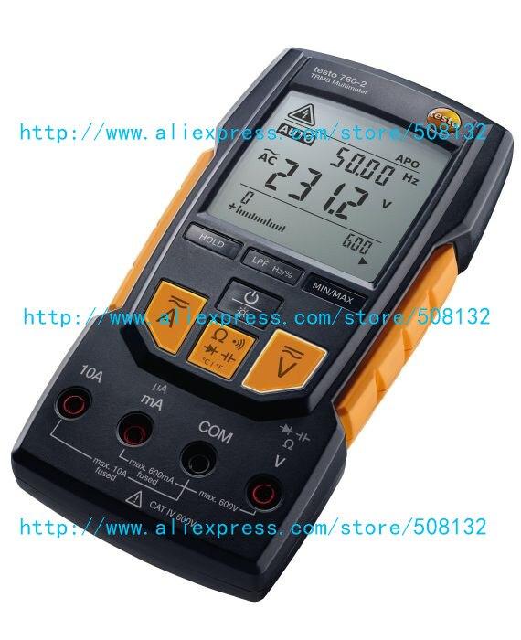 Testo 760-2-multímetro digital dmm 0590 7602