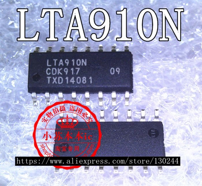 1 pçs/lote LTA910N LTA910 SOP-16 laptop p original novo Em Estoque