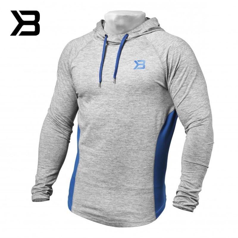 2018 Spring Autumn Winter Athletic Running Clothing Gym Jacket Men Long Sleeve hooded Jacket Men Running Jacket Men