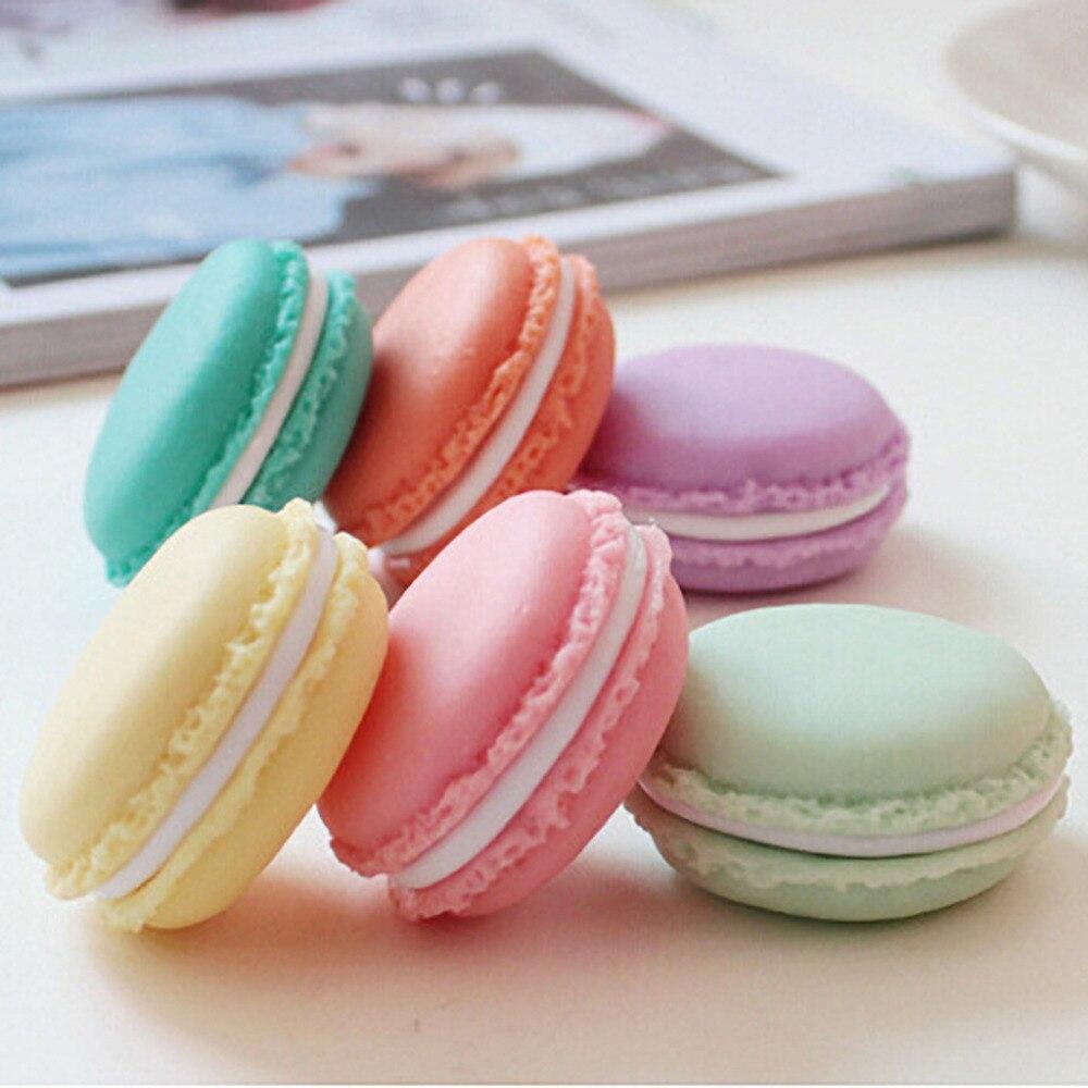 Organisateur de maquillage Mini Macarons organisateur boîte de rangement écouteur SD carte étui pochette de transport 2 pièces