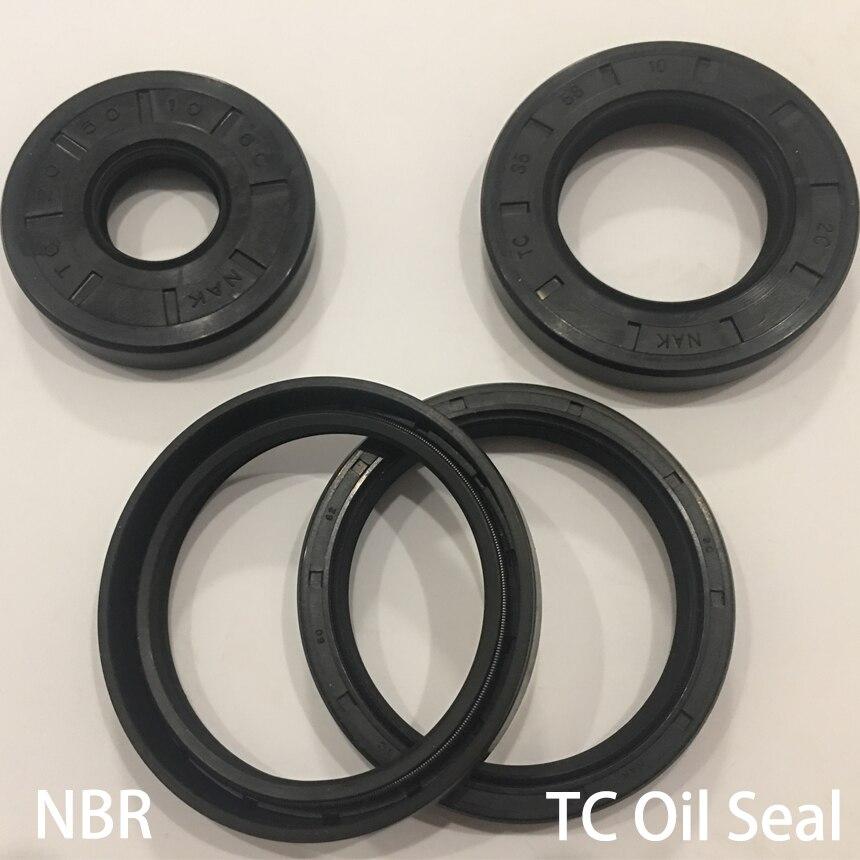 26*37*7/8 26x37x 7/8 26*38*5/7/8 26x38x 5/7/8 goma de nitrilo NBR junta de doble labio TC junta de anillo de eje Radial esqueleto sello de aceite
