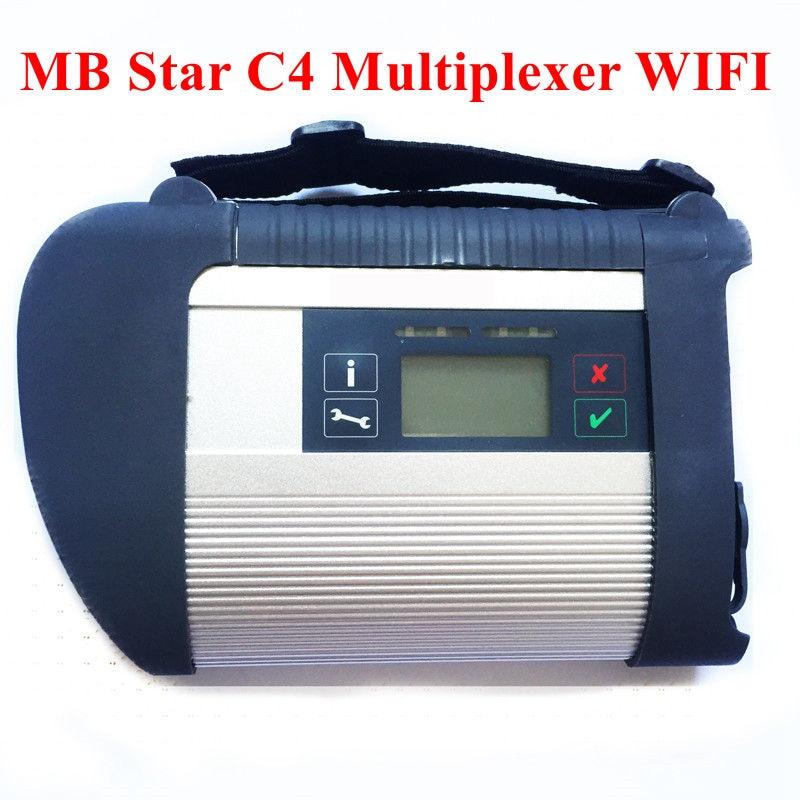 Herramienta de diagnóstico de conexión Star C4 SD de 2019 MB Compatible con Wifi MB SD Star C4 para coches y herramienta de diagnóstico de camiones envío gratis