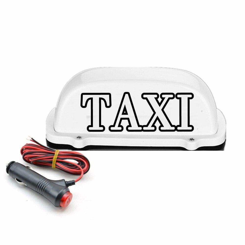 Nueva Luz LED impermeable para Taxi, luz LED para techo, luz para domo de Taxi con línea de enchufe de 3 metros de potencia Compatible con conductores practicantes