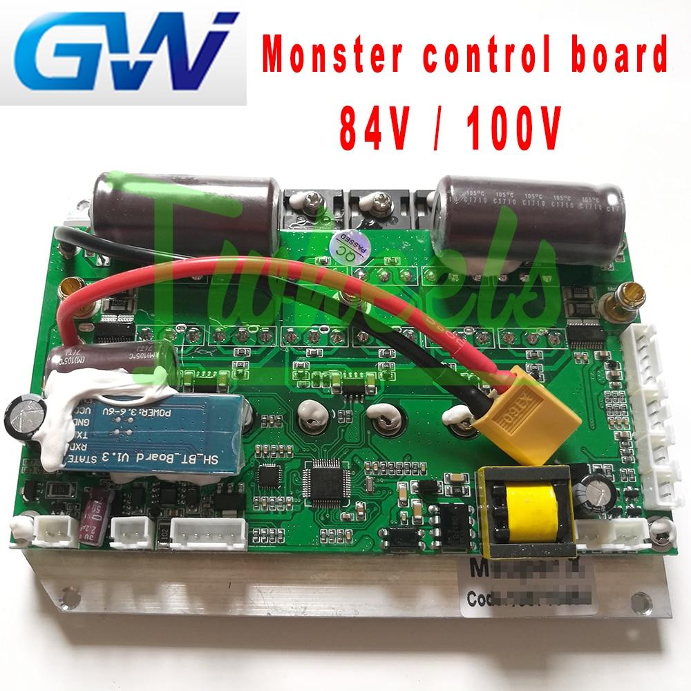 Placa madre GotWay nuevo monstruo 84V 100V placa base de control compatible con 1600wh 2400wh 1845wh Monster