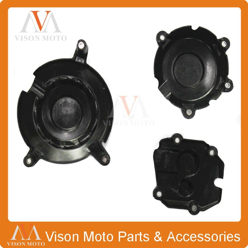 Del estator del motor de la motocicleta lado embrague encendido cubierta protectora para KAWASAKI ZX10R ZX-10R 2011, 2012, 2013, 2014, 2015, 2016