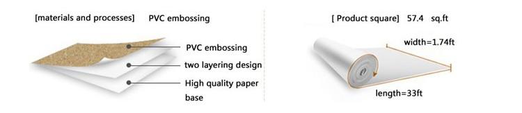 Nowoczesne 3D Cegły Off Biała Piana Grube Tłoczone Winylu oblicowywanie Ścian Ściany Rolki Papieru Tle Ściany salon Sypialnia Tapety 1