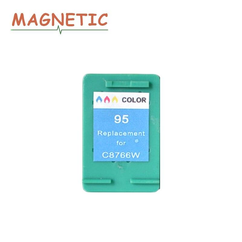 C cartuchos de Tinta Compatíveis Para HP95 Magnético Para HP 95 Deskjet 5740 6540 6840 9800 6520 photosmart psc 1510 1610 2355 2610 2710